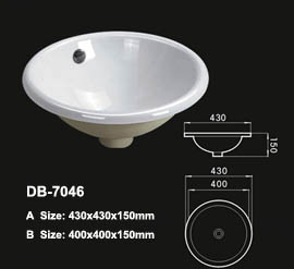 Drop In Ceramic Sink