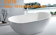Lithocast bathtub